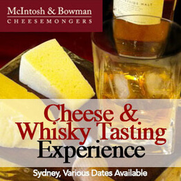 Whisky & Artisan Cheese Tasting