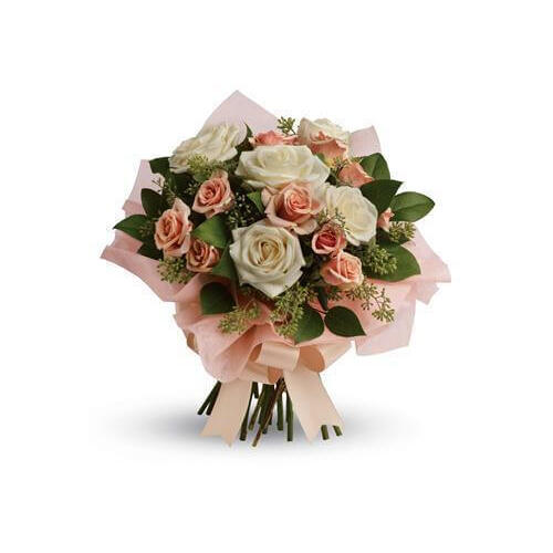 Just Peachy Floral Bouquet