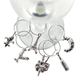 Parisian Wine Charms set
