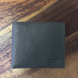 Dapper & Hyde Wall Street Wallet in Black