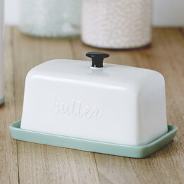 'Rise & Shine' Butter Dish