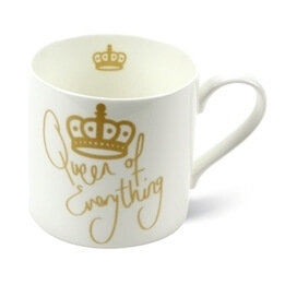 Queen of Everything Fine Bone China Mug