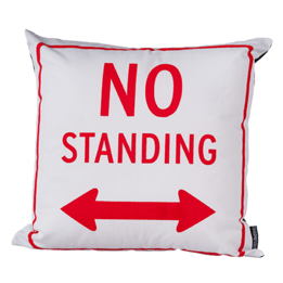 No Standing Cushion