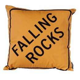 Falling Rocks Cushion