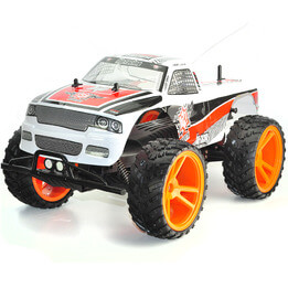 RC Monster Truck - Blue