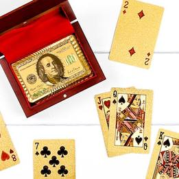 Luxury Gold-Plated Playing Cards