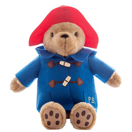 Paddington Bear in Embroidered Coat & Wellies