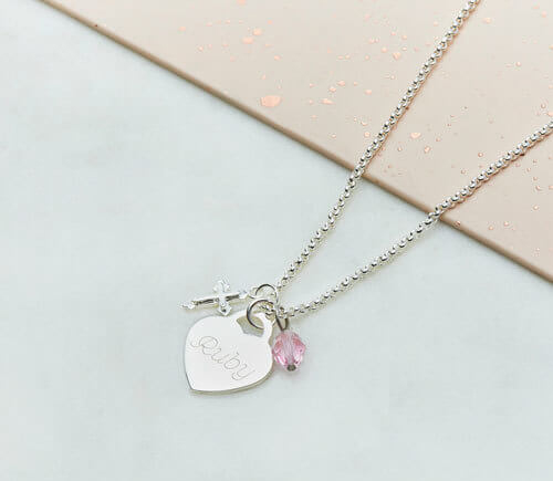 Heart Jewellery gift for girls