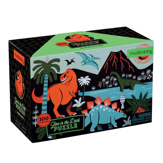 Dino Glow in Dark puzzle
