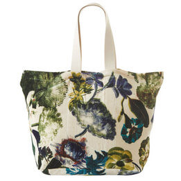 Elea Printed Tote Bag By Fable