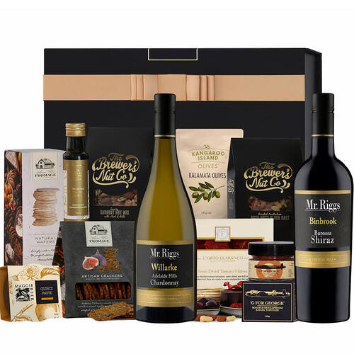 Premium Red & White Wine Hamper