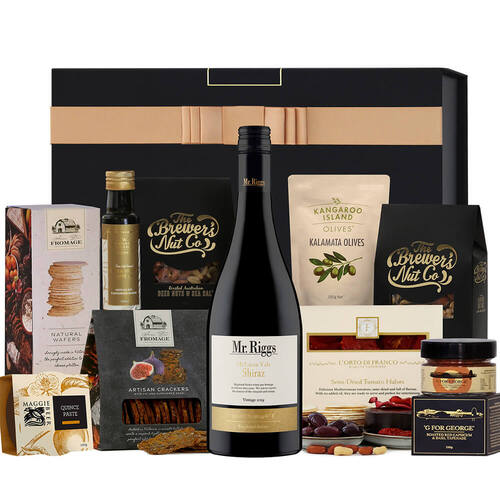 Red Wine & Nibbles Hamper