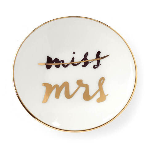 Kate Spade Miss To A Mrs Ring Dish