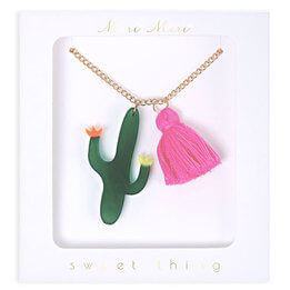 Cactus Necklace by Meri Meri