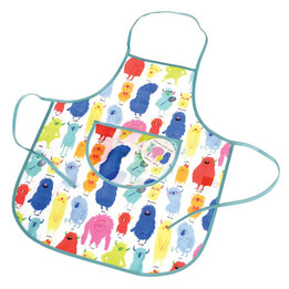 Monsters of the World Kids Apron