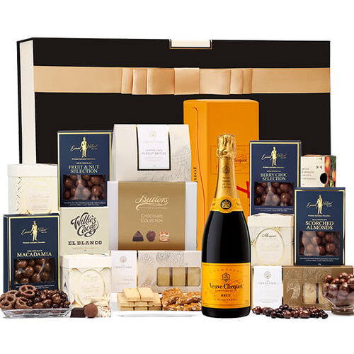 Luxury Chocolate & Veuve Clicquot Hamper