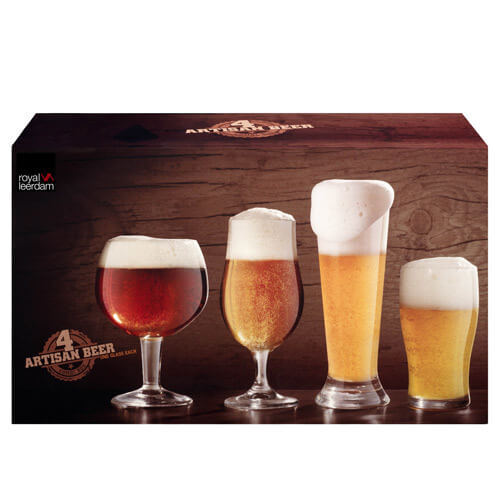 Artisan Beer Glasses Set