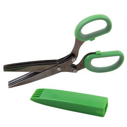 Titanium Herb Shears with Cover