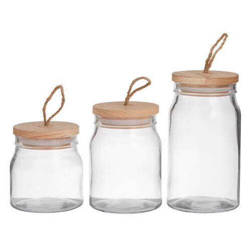 PANTRY Glass Storage Jars