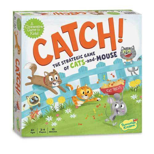Peaceable Kingdom Catch! Board Game