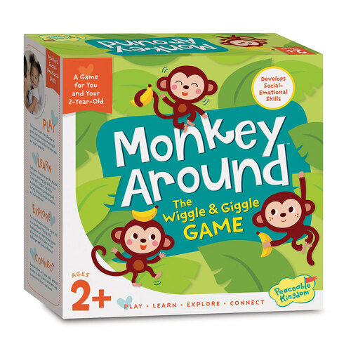 Peaceable Kingdom Monkey Around Board Game