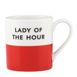 Kate Spade Lady of the Hour Mug
