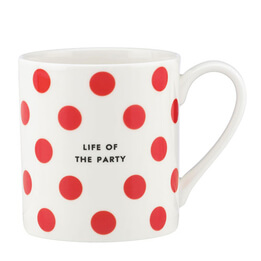 Kate Spade Life of the Party Mug