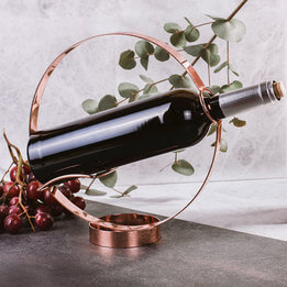 Copper Wine Bottle Holder