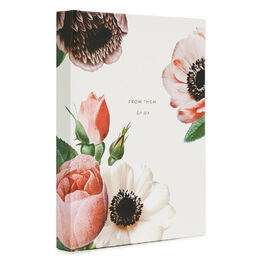 Kate Spade Bridal Gift Log Blush Floral