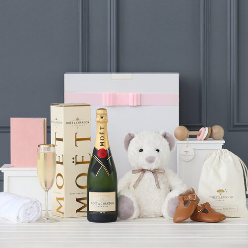 Sheridan Bear & Moët Girl Hamper