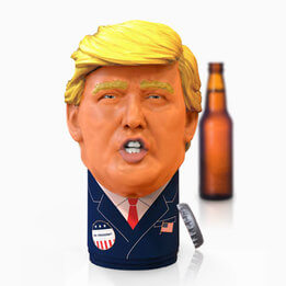 Mr President Speaking Bottle Opener