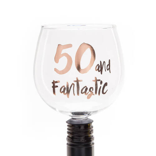 50 & Fantastic Bottomless Glass