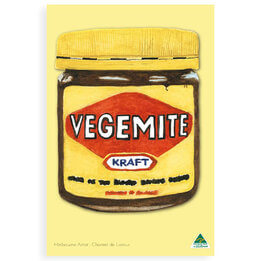 Vegemite Tea Towel