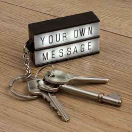 Keychain Message Lightbox