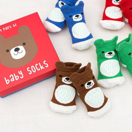 Bear Baby Sock Set