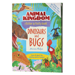Dinosaurs and Bugs Sticker Activity Book