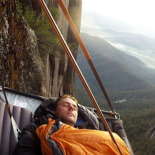 Portaledge Cliff Camping & Abseil, VIC