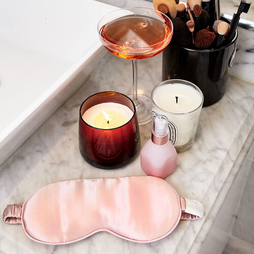 Pure Mulberry Silk Eyemask By The Cove