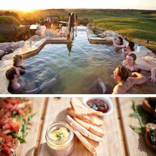 Lunch & Hot Springs For 2, VIC