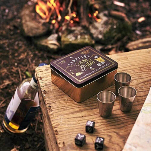 Gentlemans Hardware Campfire Call The Shots Dice Game