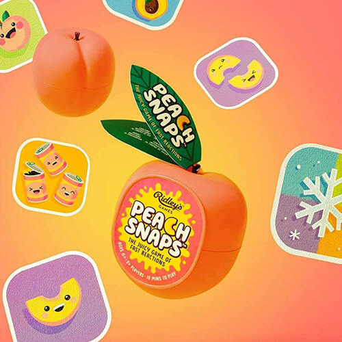 Peach Snaps Card Game By Ridley's Games