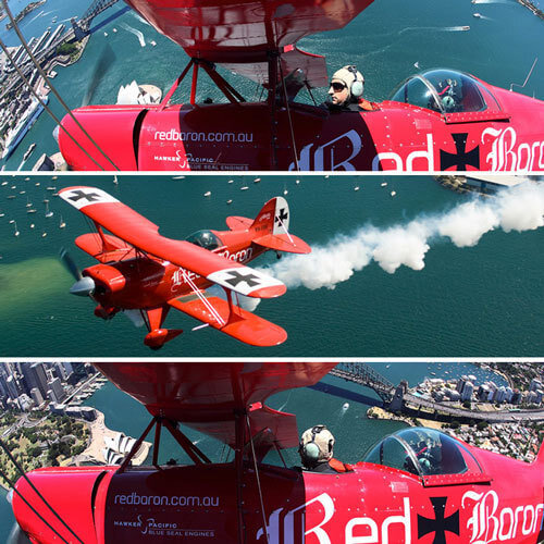 Bridge Pitts Special Aerobatics Flight, SYD