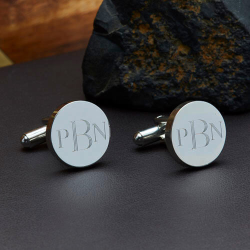 Personalised Classic Monogram Cufflinks