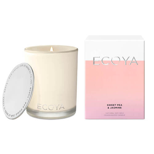 Ecoya Sweet Pea & Jasmine Madison Candle