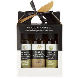 Random Harvest Truffle Infused Olive Oil Trio