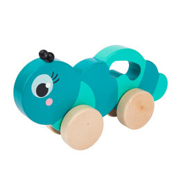 Sunnylife Caterpillar Push-Pull Toy