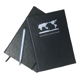Luxury Leatherette A5 Travel Journal