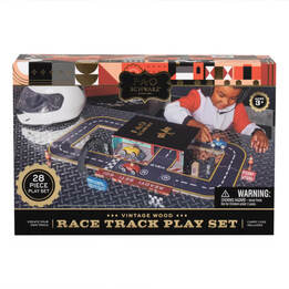 Race Track Toy Play Set By FAO Schwarz