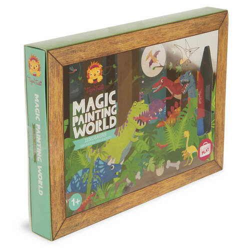 Dinosaurs Magic Painting World