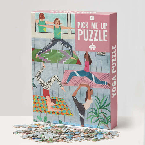 Pick Me Up Yoga 500 Piece Jigsaw Puzzle